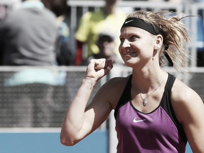 WTA Prague: Lucie Safarova makes the finals sending defending champion Karolina Pliskova home