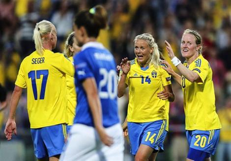 La Suède d'attaque