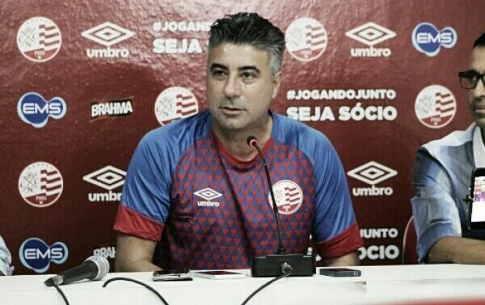 Quatro jogadores são dispensados no primeiro dia de Alexandre Gallo como treinador do Náutico