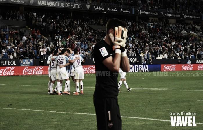 Duje y 'Chory' sentencian al Levante a la Segunda División