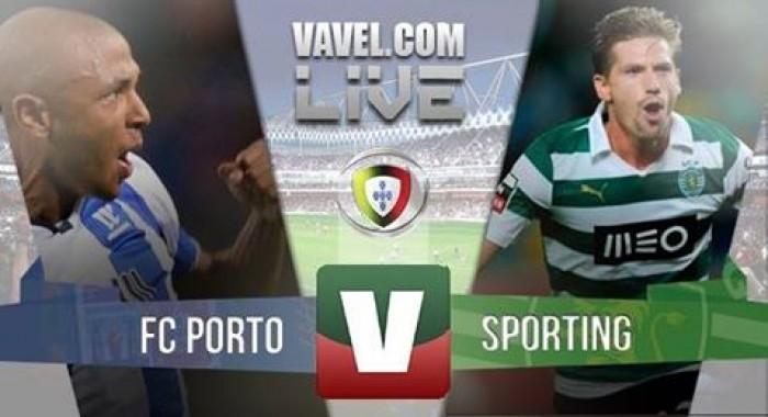 Resultado Porto 1-3 Sporting em Liga NOS 2016