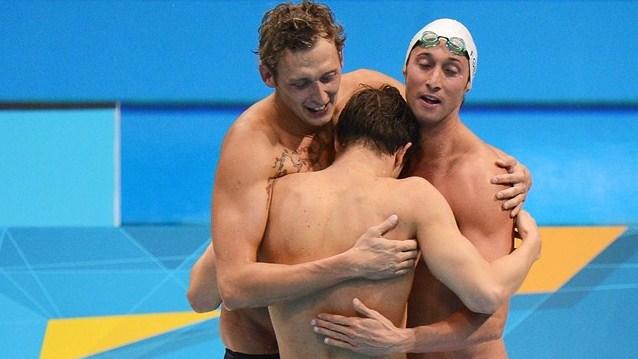 Francia sorprende a Estados Unidos en el 4x100 masculino