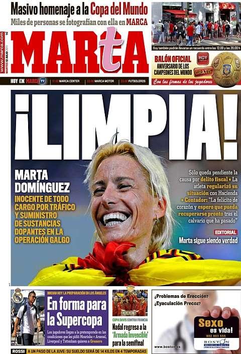Resucitando a Marta Dominguez