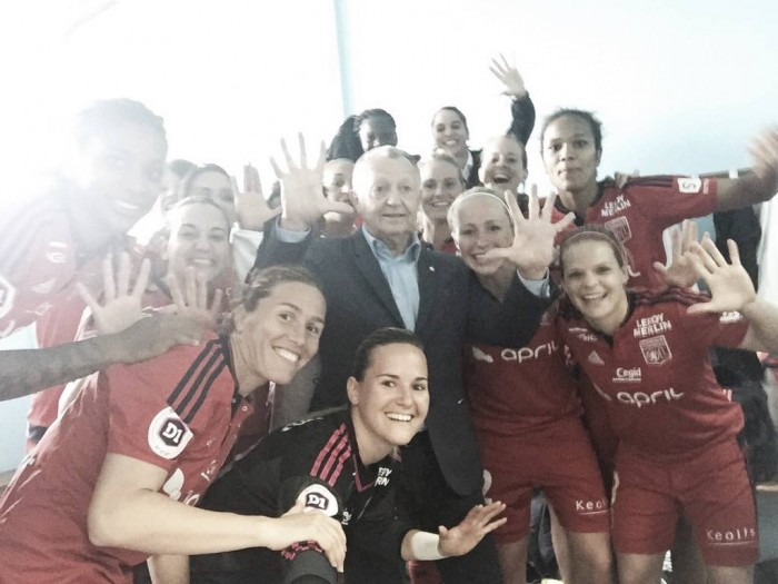 Division 1 Féminine - Matchday 21 Round-up: Lyon win 10th successive league title