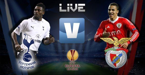 Tottenham x Benfica, directo