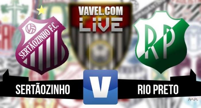 Resultado Sertãozinho x Rio Preto na final da A-3 2016 (2-0)