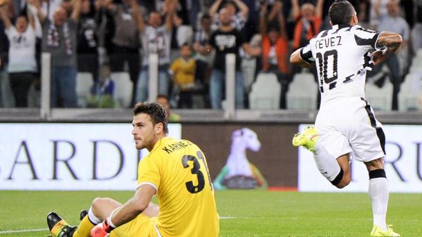 Troppa Juve per Strama, Tevez - Marchisio e Allegri sorride