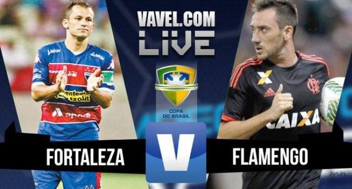 Resultado Flamengo x Fortaleza na Copa do Brasil 2016 (1-2)