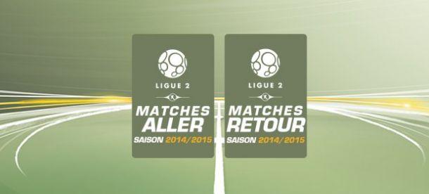 Le calendrier de la saison de L2 2014/2015 dévoilé