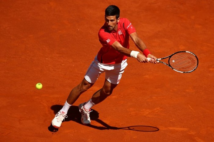 Djokovic vence Coric e avança para a terceira rodada no Masters 1000 de Madrid
