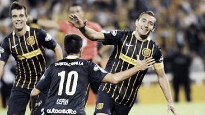 Historial entre Rosario Central y equipos colombianos