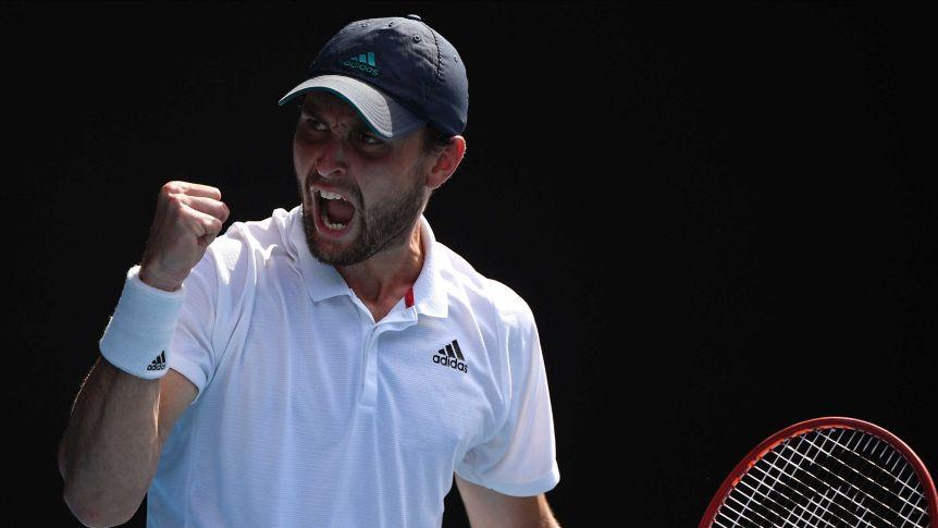 2021 Australian Open: Aslan Karatsev makes history in victory over Grigor Dimitrov