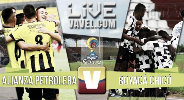 Resultado Alianza Petrolera - Chicó en Liga Águila 2015-II (1-0)