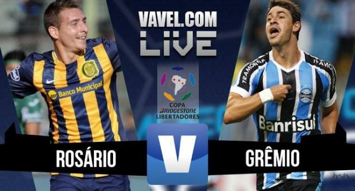 Resultado Rosario Central x Grêmio na Libertadores (3-0)