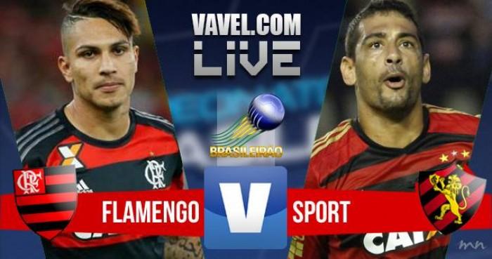 Resultado Flamengo x Sport no Brasileirão 2016 (1-0)
