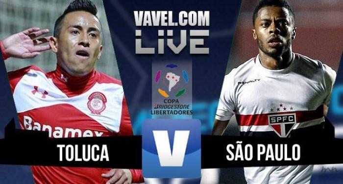 Resultado Toluca x São Paulo (3-1)