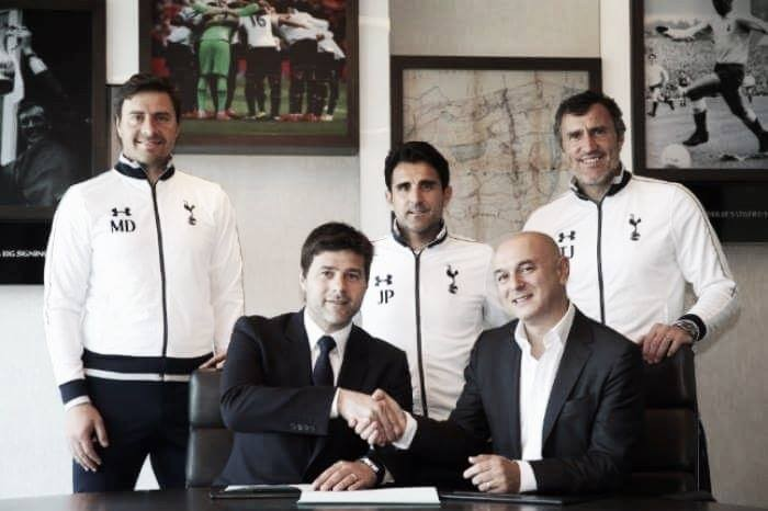 Mauricio Pochettino commits to Spurs