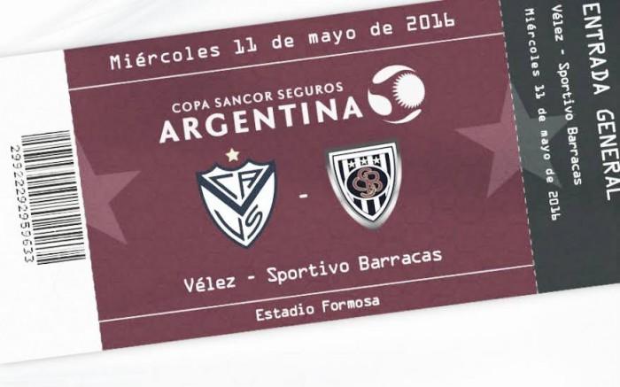 Previa Vélez - Sportivo Barracas: Camino en Copa