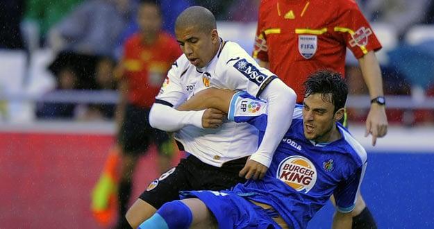 Valencia – Getafe: papeles cambiados en Mestalla