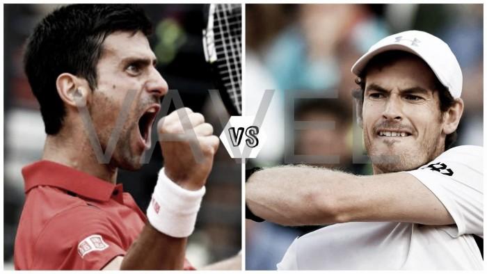 Djokovic y Murray: finalistas en Roma