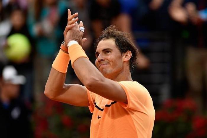 De virada, Nadal vence Kyrgios e enfrentará Djokovic nas quartas do Masters 1000 de Roma