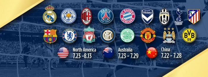 [GUIA VAVEL] Saiba tudo sobre a International Champions Cup, o principal torneio de pré-temporada do mundo