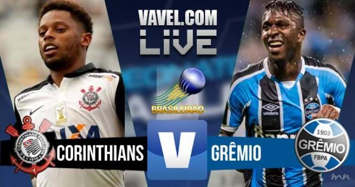Resultado Corinthians x Grêmio no Campeonato Brasileiro Série A 2016 (0-0)