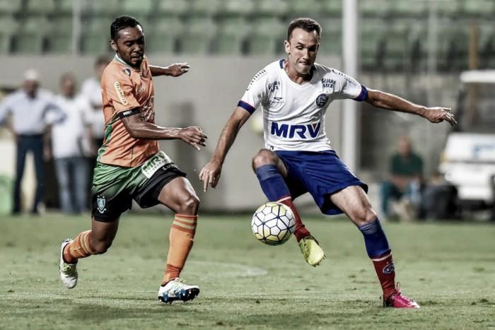 América-MG e Bahia empatam sem gols em jogo movimentado e deixa vaga na terceira fase em aberto