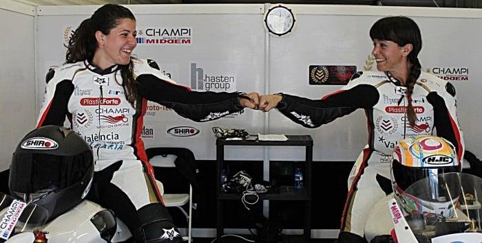 Debut por todo lo alto del Champi Women Racing