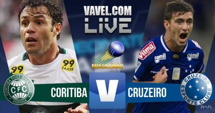 Resultado Coritiba x Cruzeiro no jogo Campeonato Brasileiro 2016 (1-0)