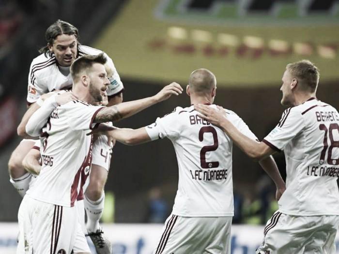 Eintracht Frankfurt 1-1 1. FC Nürnberg: Der Club grab a big away goal despite hosts' dominance