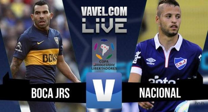 Resultado de Boca Juniors y Nacional por Copa Libertadores (1-1)-(4-3)