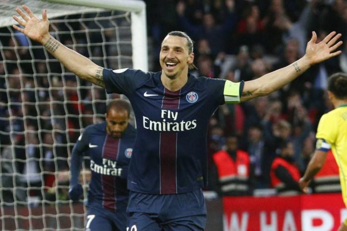 Ibrahimović se despide del PSG con 38 goles