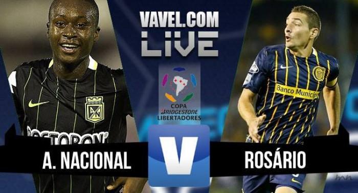 Resultado Atlético Nacional x Rosario Central na Copa Libertadores 2016 (3-1)