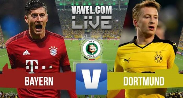 Resultado Bayern de Munique x Borussia Dortmund na final da DFB Pokal (0-0/4-3 PÊN)