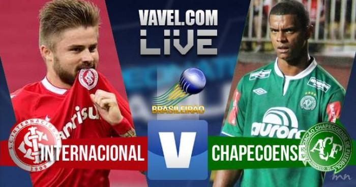 Resultado Inter x Chapecoense no Campeonato Brasileiro 2016 (0-0)