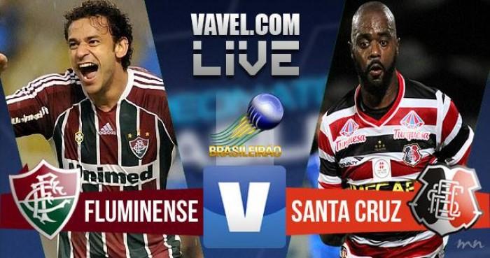 Resultado Fluminense x Santa Cruz no Brasileirão 2016 (2-2)