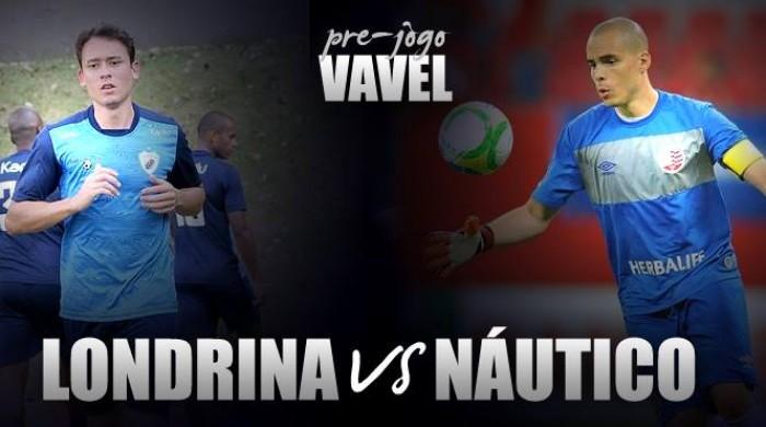 Londrina duela com Náutico buscando primeira vitória na Série B