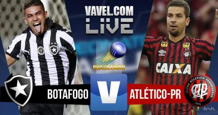 Resultado Botafogo x Atlético-PR no Brasileirão Série A 2016 (2-1)