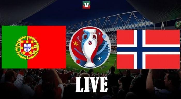 Resultado Portugal x Noruega no amigável Euro 2016 (3-0)