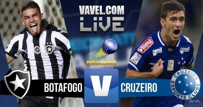 Resultado Botafogo x Cruzeiro pelo Campeonato Brasileiro 2016 (0-1)