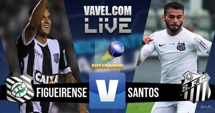 Resultado Figueirense e Santos no Brasileirão (2-2)