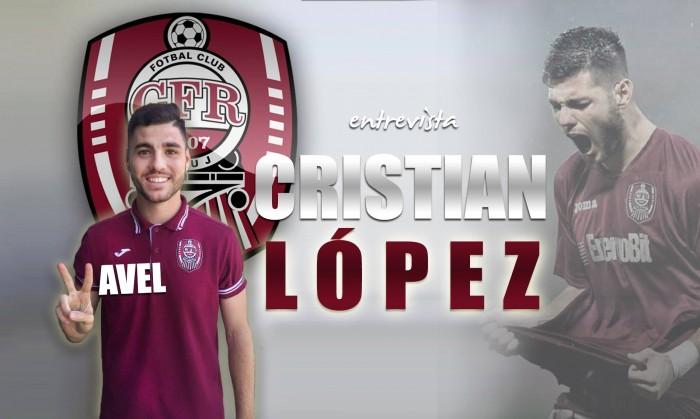 """Entrevista. Cristian López: """"Fue una gran decisión venir al CFR Cluj"""""""