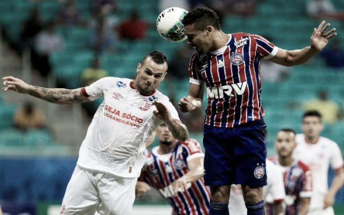 Bahia e Náutico falham na finalização e empatam sem gols