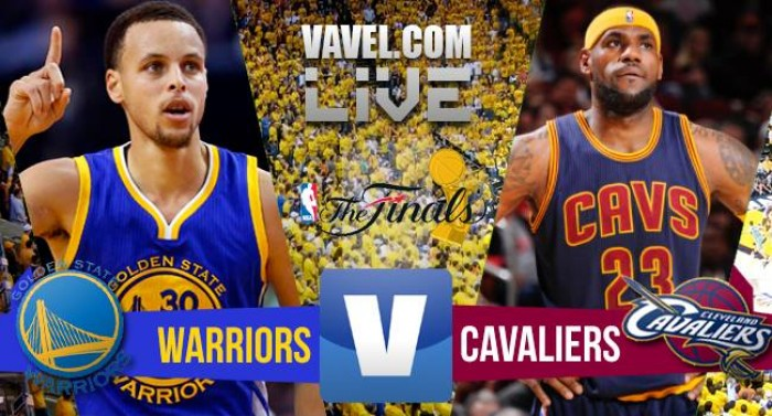 Risultato Live Golden State Warriors-Cleveland Cavaliers, gara-1 NBA Finals 2016  (104-89)