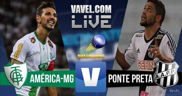 Resultado América-MG x Ponte Preta no Brasileirão 2016 (1-2)