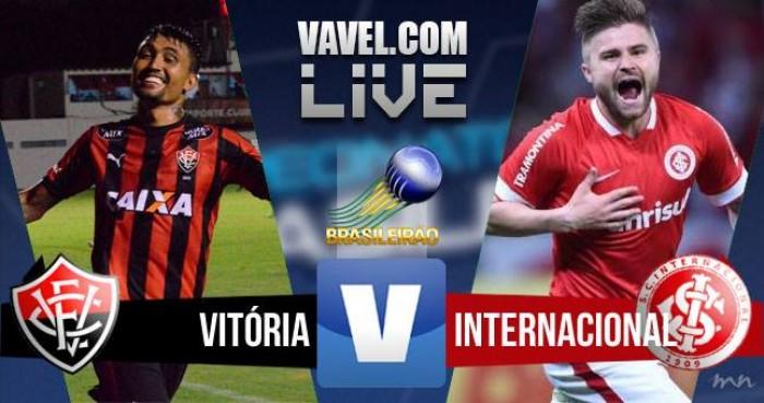 Resultado de Vitória x Inter no Campeonato Brasileiro 2016 (1-0)