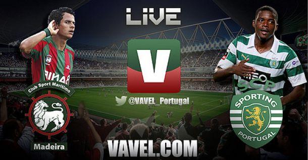 Resultado jogo Marítimo 1-3 Sporting na Liga 2014