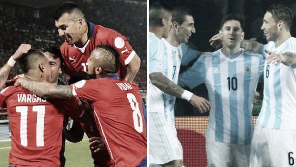 Argentina-Cile: aspettando la finale