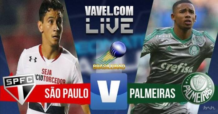 Resultado São Paulo x Palmeiras no Campeonato Brasileiro 2016 (1-0)
